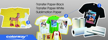A4/Letter High quality sublimation transfer paper/ Dye sublimation Inkjet for textile