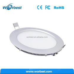 Dimmable 18 Watts LED Panel Flood Light + LED Driver, Round Recessed Flat Downlight Fixture Soft Warm White