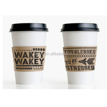 Custom logo printed styrofoam paper cup for drink