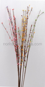 Decorative Pink Artificial Dried Flowers