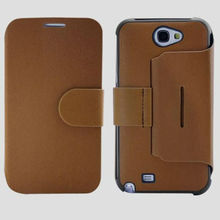classical design leather flip case for samsung galaxy note 3 wholesale cell phone case
