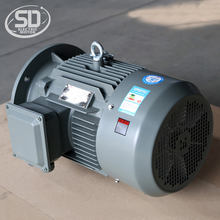 IE2 160M2 750rpm 8 pole 7.5hp high voltage 5kw 415v electric motor
