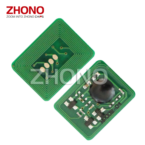 Newest compatible toner chip for OKI C6050 laser printer toner cartridge