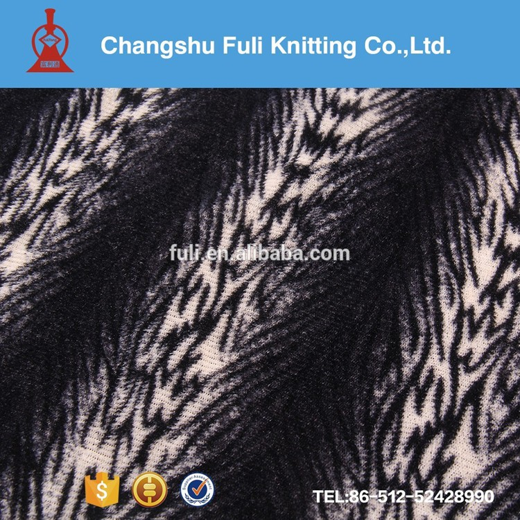 Factory-directed Wholesale Printed 100% Polyester PV Plush Fabric