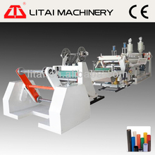 Double station new type plastic extrusion line sheet forming machine