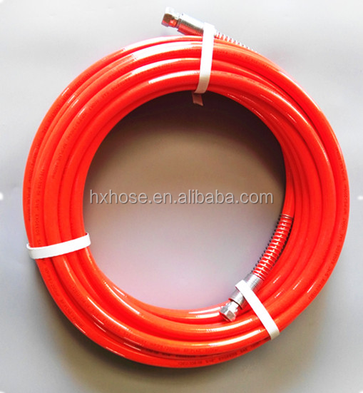fiber braided reinforcement sewer jetting hose