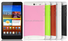 2014 new 3g tablet mtk8312 dual core 7 inch 512M/4G storage 3g video call tablet phone