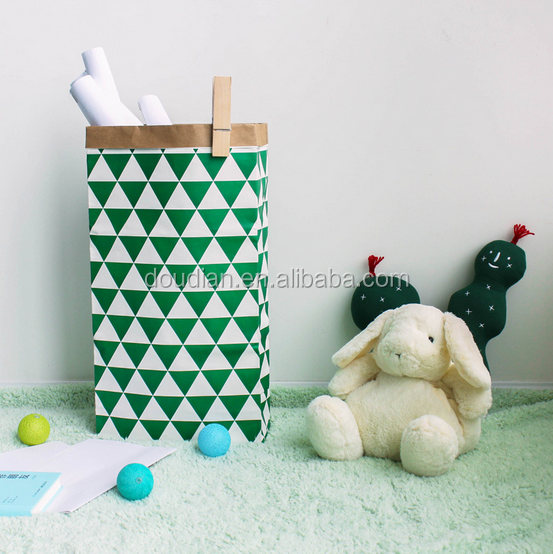 Cute Animal Canvas Laundry Bag Hamper Basket For Toy