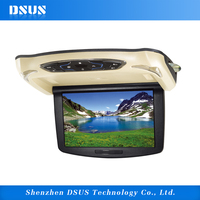 flip down monitor car dvd screen roof mount dvd player for car