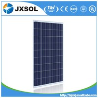 Chinese solar panels price 150w poly solares paneles/pv module/solar module