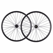 China Professional 27.5er Carbon Wheelset All Mountain Bike Clincher Tubeless Ready 35mm Width