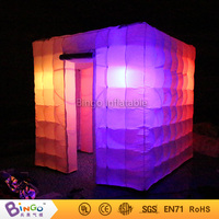 New Design Colorful Party Inflatable Photo Booth Tent With Led Lighting