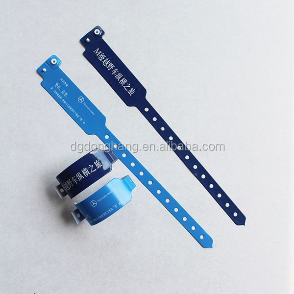 Cheap plastic custom wrist bands