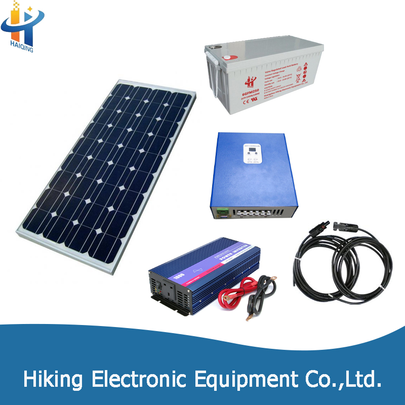 Latest Products Non-Spillable home lighting solar electricity generating system for home
