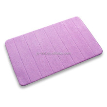 China Manufacturer Memory Foam Color Changing Bath Mat