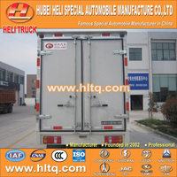 FOTON FORLAND 98hp 5tons 4X2 van cargo truck best price hot sale for export in China.