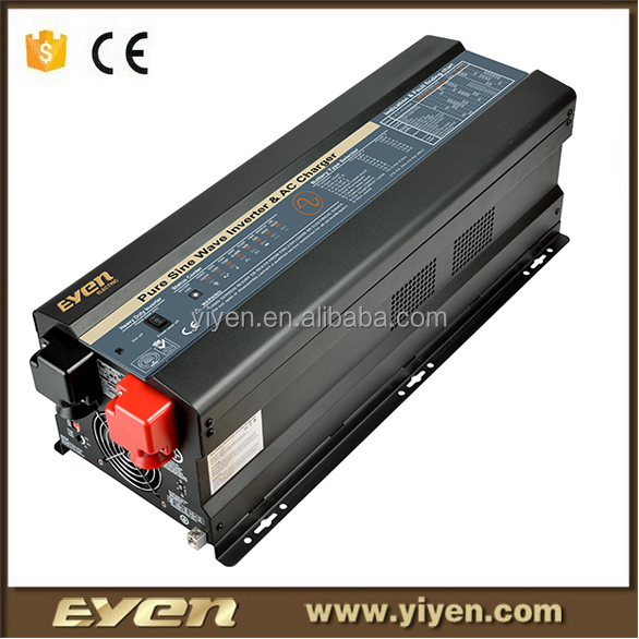 new type off grid 12V 24V 6000W pure sine wave solar inverter automobile vehicle mounted system power solution