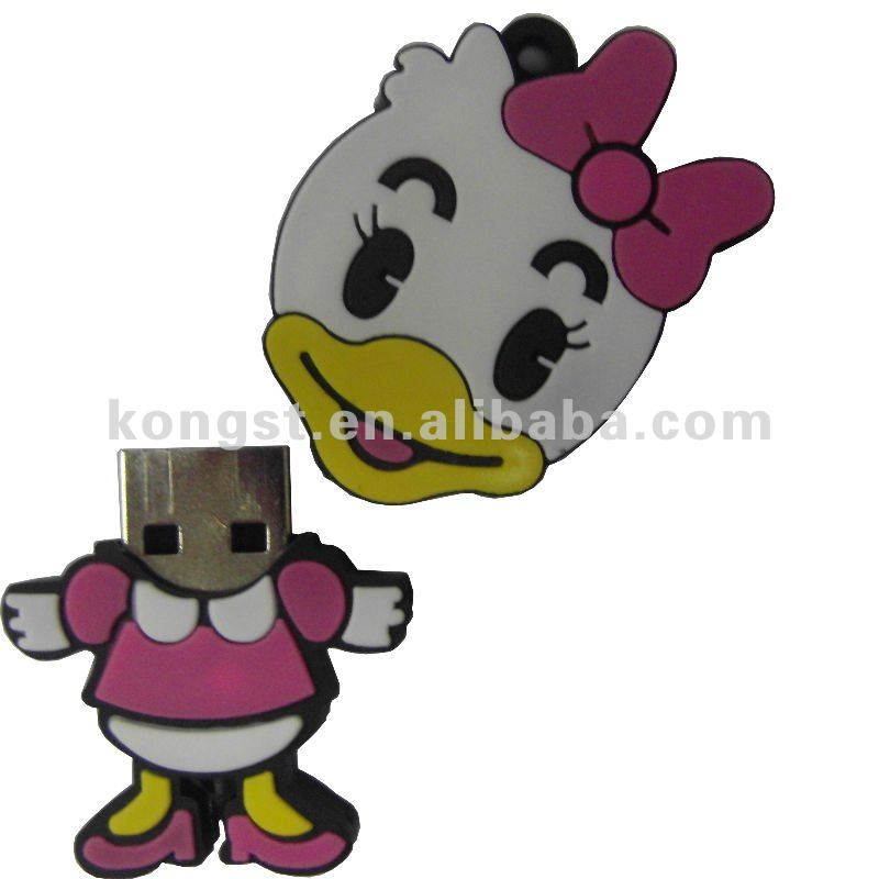 Cartoon Donald Duck USB flash drive 4GB