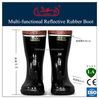 high quality work boot/boot rubber boots/gum boot shoes used in mine