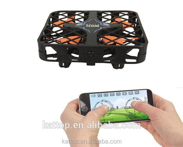 Wholesale drone landing 3D Flip Drone Square Hovering 2.4G-4CH 6 Axis Gyro RC Mini Quadcopter drone