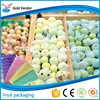 2015 Made in China colorful fruits and vegetables packing foam net