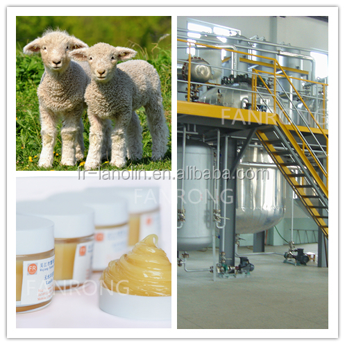Pure Lanolin Anhydrous / Wool Fat / Pharmceutical Grade / BP 2008 for skin care material