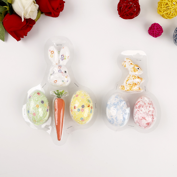 Wholesale Cheap colorful easter decoration plastic easter egg
