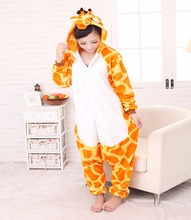 Halloween Pajamas Homewear Giraffe Unisex Adult Cosplay Giraffe Animal Costume