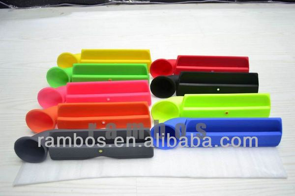 Silicone Holder Horn Amplifier for iPad 2 3 4