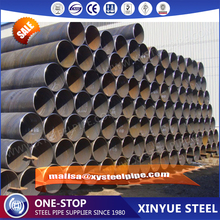 Alibaba.com Q235 ssaw erw schedule 40 steel pipe roughness steel pipe manufacturer