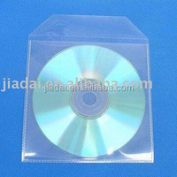 Plastic CD Sleeve With Flap CPP