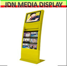 26 inch file floor standing lcd digital display for put file
