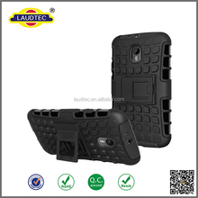 Rugged Rubber Hard Shockproof Cover Case for Motorola Moto G Turbo Edition