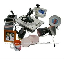 8 in 1 multifunction combo heat press machine/ All in one combo heat pres/ 8 in 1 sublimation machine.