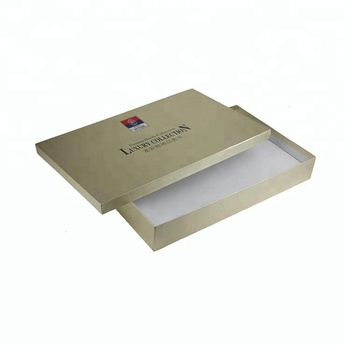 Custom clothes packaging box printing design
