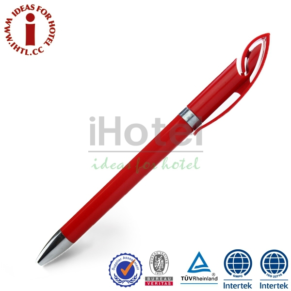 Luxury Plastic Carbon Fiber Ball Pen With Stylus Touch