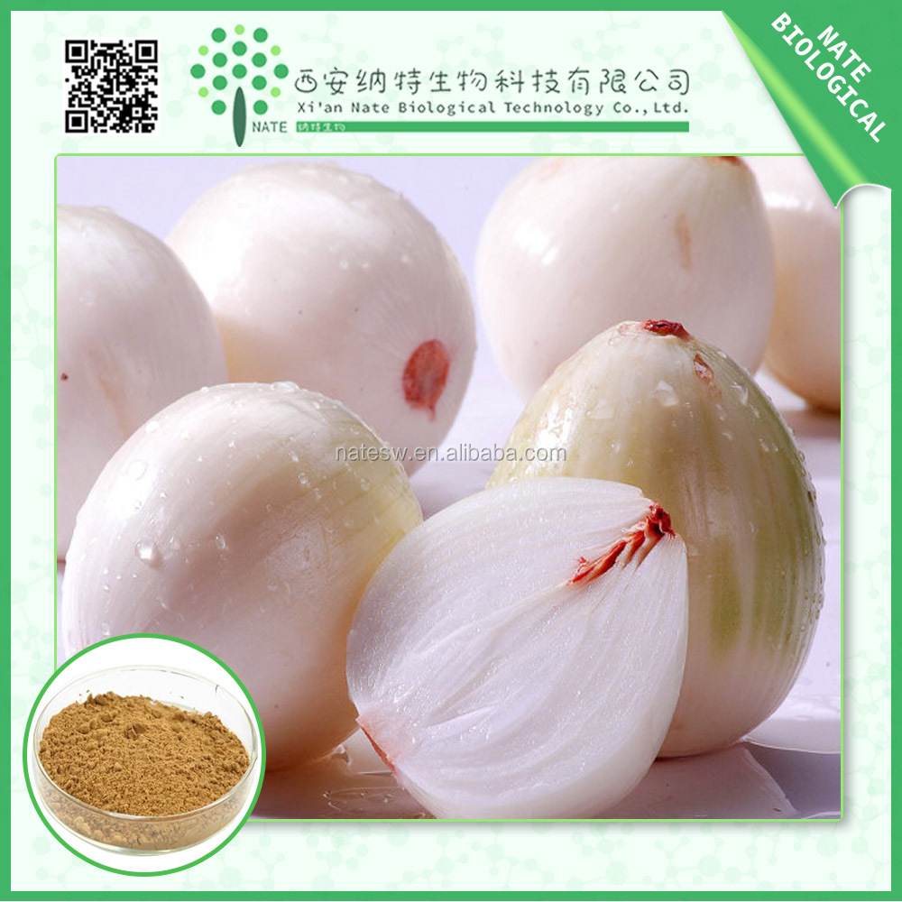 GMP Factory supply Organic Onion Extract 30% Quercetin in bulk