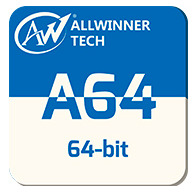 Powerful IC Allwinner A64 BGA396 Quad Core CPU Processor