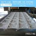 2T Direct Cooling Aluminium Freezing Plate Block Ice Making Machine
