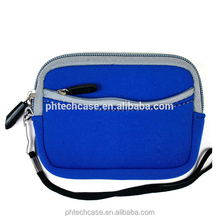 Custom Neoprene pouch carrying bag for GPS /Digital camera /Phone electronic accessories soft case HDD bag pouch
