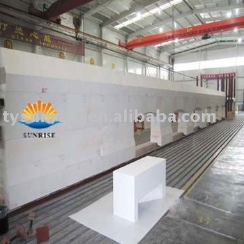 Refractories brick for glass furnace Dog house