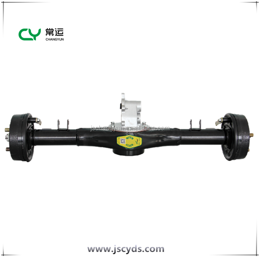 China electric vehicle differrential axle assemble e rickshaw rear axle