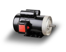 NEMA 56C 4 pole Single phase ac 0.5 hp electric motor, Totally enclosed fan-cooled