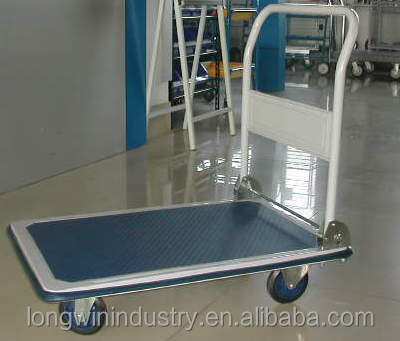 300kg High Quality Plastic Platform Trolley for transport