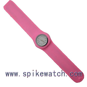 Children's cheap slap watch silicone material suitable for 2 dollar shop