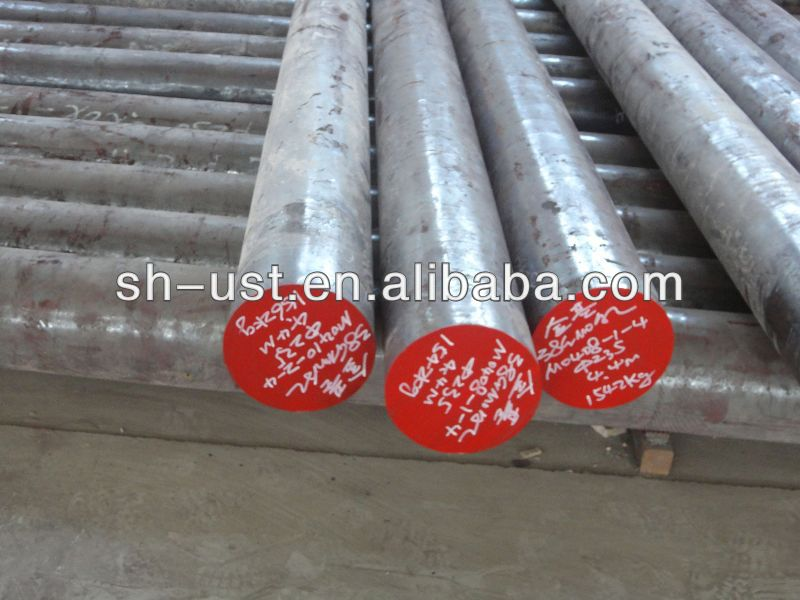 alloy steel round bar 42CrMo4/din 1.7225/4140 hot forged bars with various specification