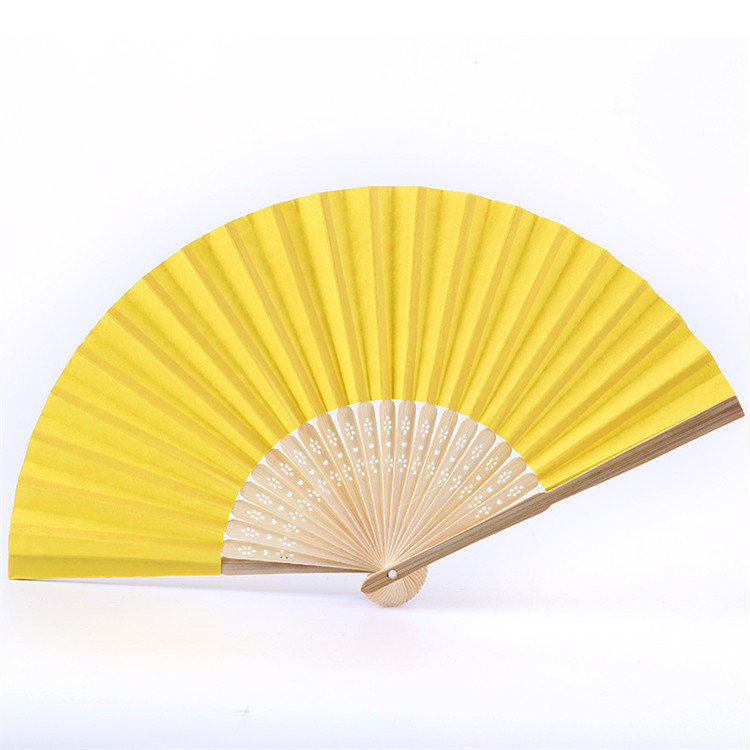 FQ brand summer promotional gift portable custom printed folding logo bamboo hand fan