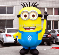 Factory price Giant Inflatable Minion ,Adevertising inflatable despicable me minion