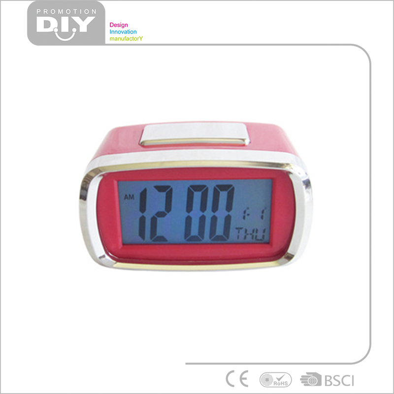 Digital calendar alarm clock table clock for discount