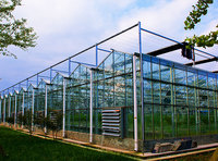 Automatic intelligent ventilation heat preservation ecological greenhouse system